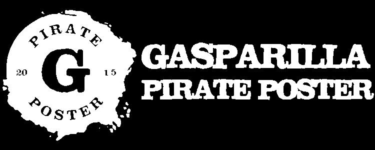 Gasparilla Pirate Poster
